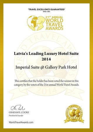 Gallery Park Hotel & Spa, a Chateaux & Hotels Collection: WorldTravelAward