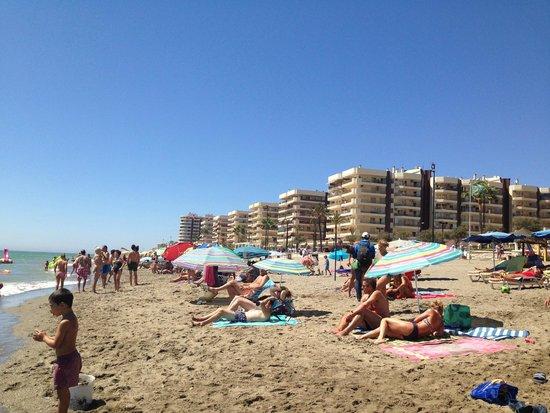 Hotel Las Pirámides: Una playa preciosa solo a 2 minutos del hotel