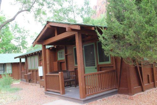 Zion Lodge: Une chambre