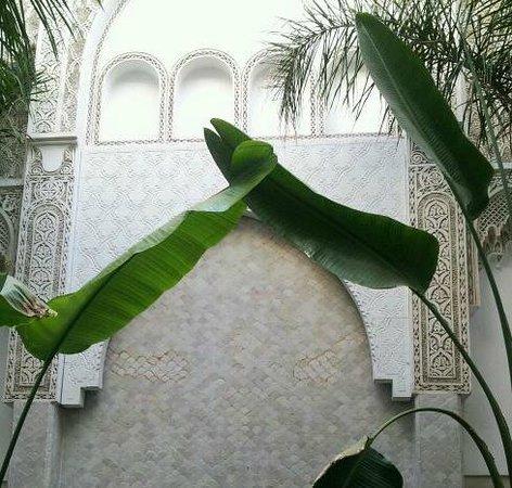Riad Palau: El patio