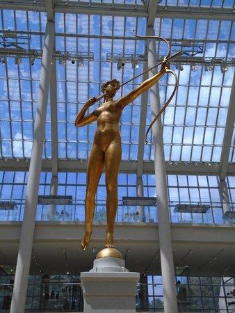 Big Onion Walking Tours : Augustas Saint Gaudens sculpture Diana
