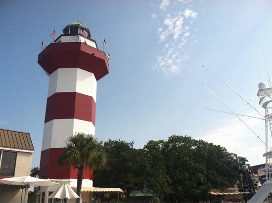 Harbour Town Lighthouse: Lighthouse.
