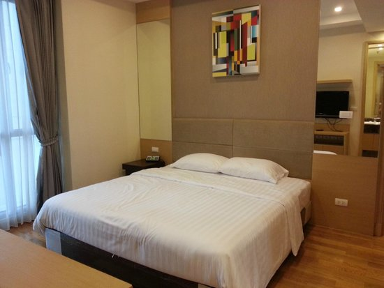 39 Boulevard Executive Residence Hotel: Comfortable bed