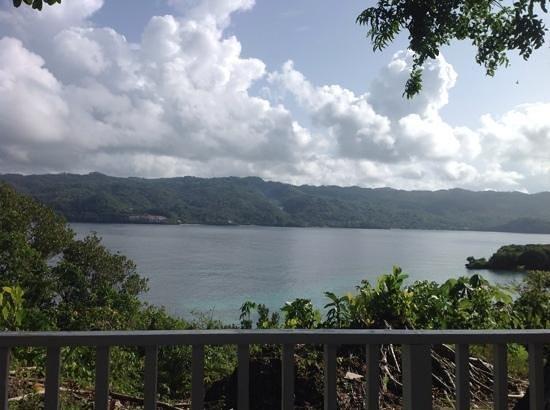 Luxury Bahia Principe Cayo Levantado : View from our patio across Samana Bay