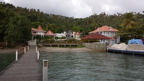 Luxury Bahia Principe Cayo Levantado : Preparing to leave the port in Samana