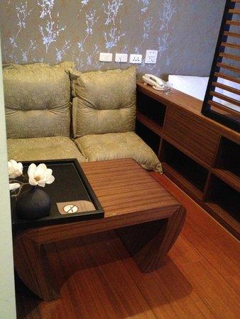iTaipei Service Apartment : Sitting area..