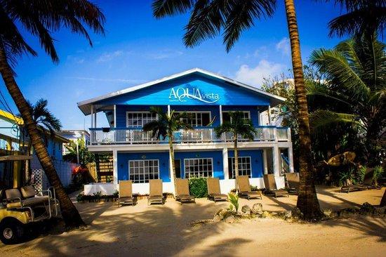 Aqua Vista Beachfront Suites: AquaVista Daytime
