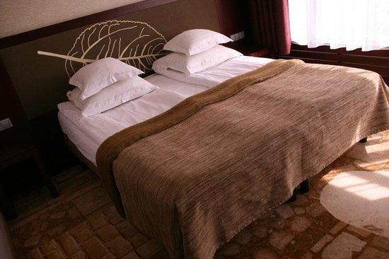 Nordic Hotel Forum : cama, mirad que suelo!