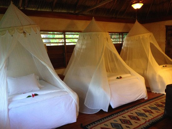 Gaia Riverlodge : They were able to accomadate an extra bed for my older daughter.