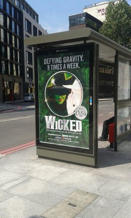 Wicked the Musical: Publicitè de Wicked