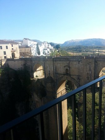 Hotel Don Miguel: Il balcone del Don Miguel sul Tajo di Ronda