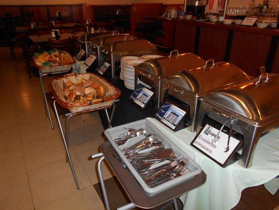 Hotel Lepanto: Con una gran variedad de platillos.