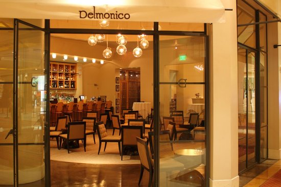 Exterior of Delmonico Steakhouse