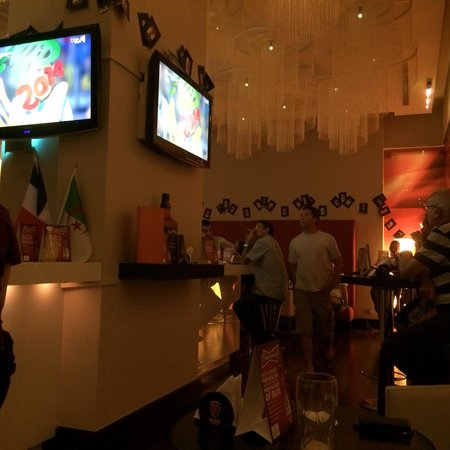 Ibis Mall Of The Emirates: Watched world cup at the hotel pub