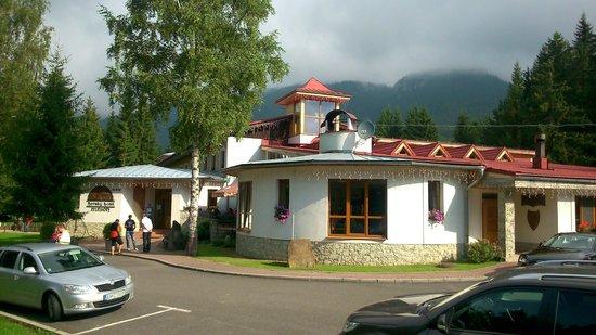 Bobrovec, Slovakia: Main hotel building