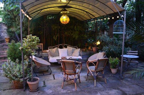 La Paillere : Le patio