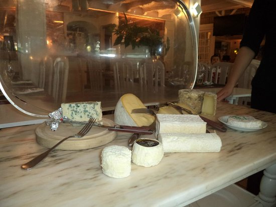 Hotel Carayon : plateau de fromages