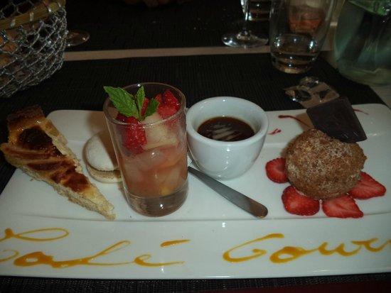 Hotel Carayon : café gourmand
