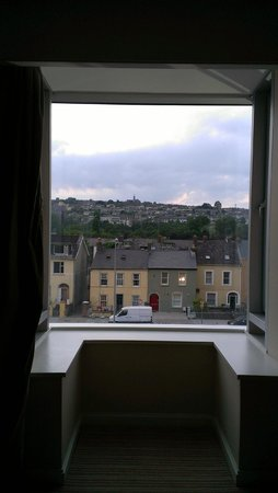 The River Lee: Charming Cork from my modern room