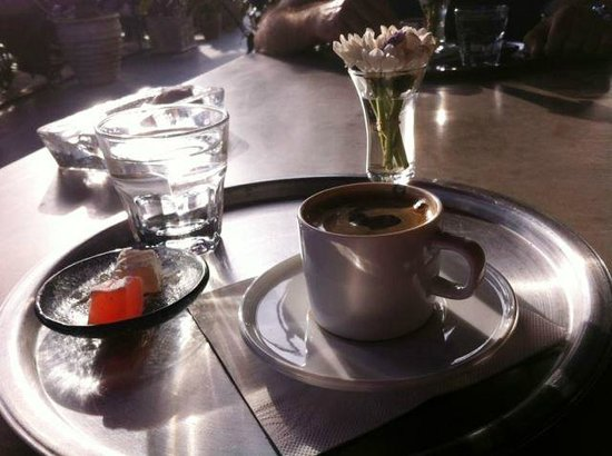 Big Chefs: One the best Turkish coffees we've tasted in Istanbul