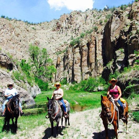 Geronimo Trail Guest Ranch : Best riding ever!