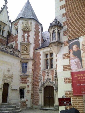 Le Clos Lucé : chateau