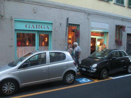 La Cucina del Garga: Outside the restaurant
