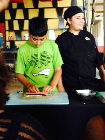 Paradisus Playa Del Carmen La Esmeralda: Sushi Making Class