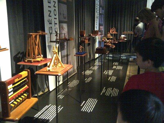 Le Clos Lucé : Invention Exhibition Room