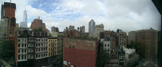 The Roxy Hotel Tribeca: This is the view from our room