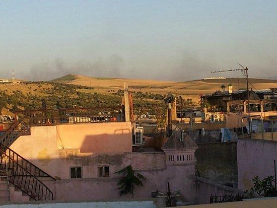 Riad Verus: roof view