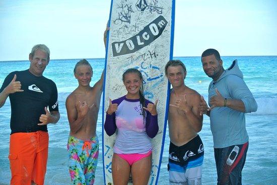 360 Surf School: The gang...