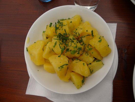 Salm Braeu: Side order of potatoes