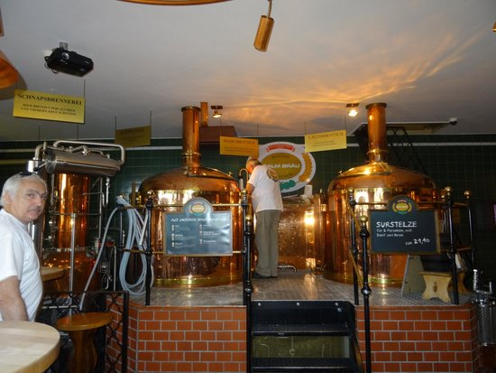 Salm Braeu: They have their own beers, brewed on the spot