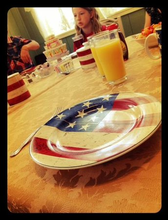 Prairie House Manor: Breakfast