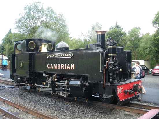 Vale of Rheidol Railway: PRINCE OF WALES LOCO OF THE RAILWAY