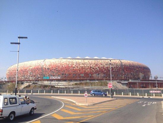 FNB Stadium: From Soweto Highway