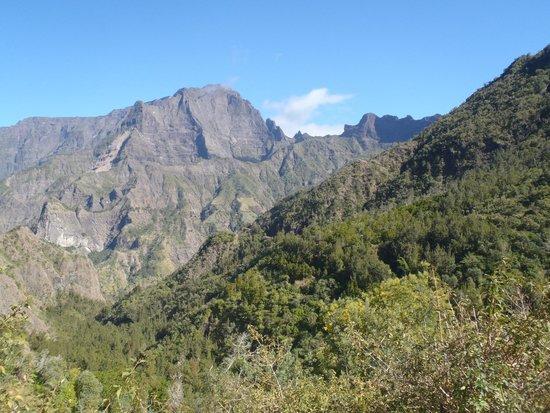 Road to Cilaos : Panorama