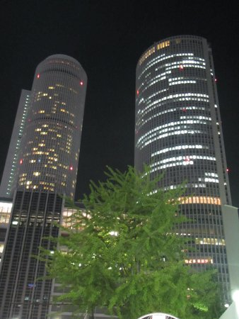 Nagoya Marriott Associa Hotel: Nagoya Marriott by night