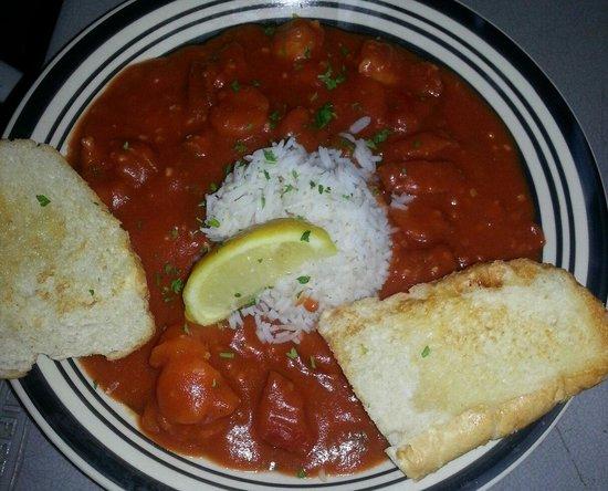 Darwell's Cafe : Shrimp creole was very good.