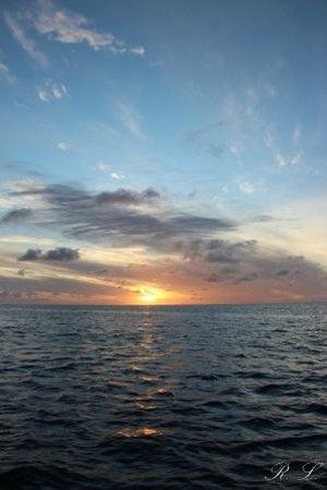 Maldive Due Palme: TRAMONTO