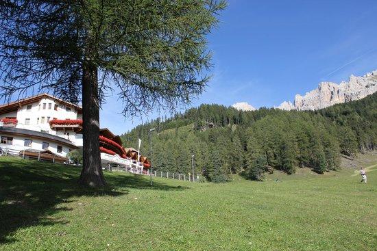 Hotel Sonnalp: Il Sonnalp ai piedi del Latemar