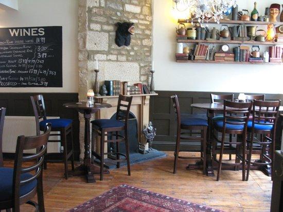 The Bear: Bar area
