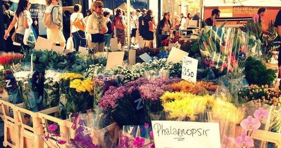 Portobello Road Market: Muitas flores