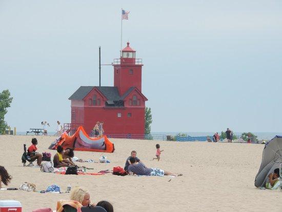 Holland Faros De Luz Picture Of Holland State Park Beach