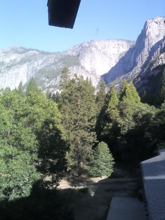 The Majestic Yosemite Hotel: View from our bedroom