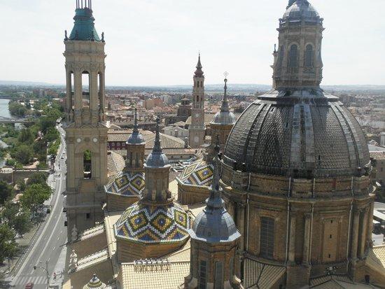 Basilica de Nuestra Senora del Pilar: Vista desde la Torre