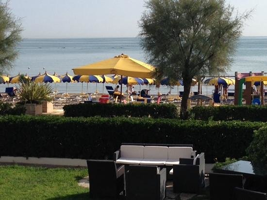 Hotel Ruhig : Direkte Strandlage