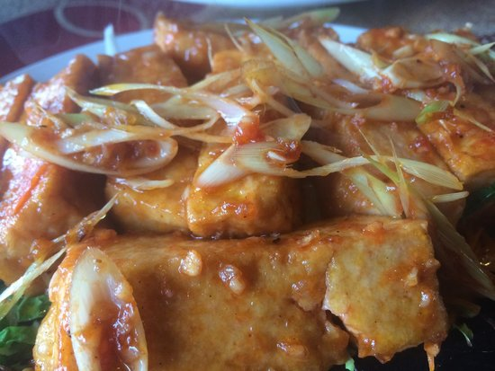 Natureview: Tofu in butter and Lemongrass