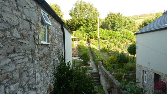 Bindon Bottom B&B: View from the Barrie room